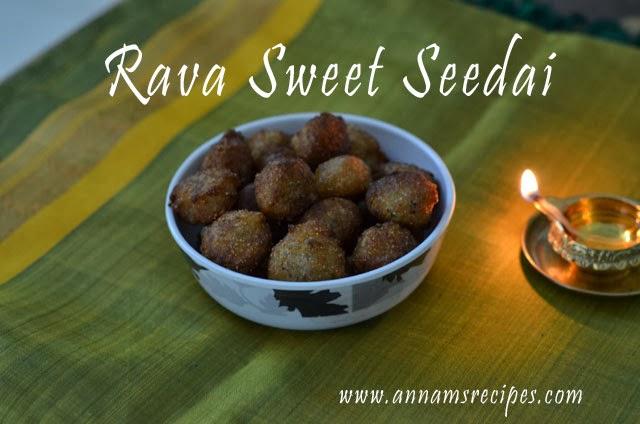 Rava Sweet Seedai
