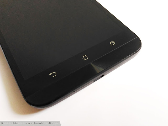 desain asus zenfone 2 laser menu standar android