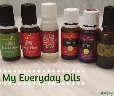 everyday oil routine to use essential oils all day long | Hot Pink Crunch