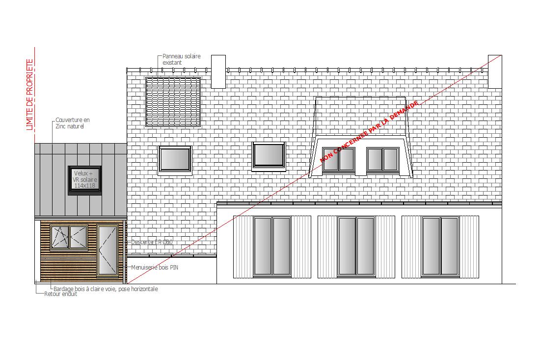 pascal ponchon architecte d 39 int rieur vannes morbihan bretagne extension en ossature bois d 39 une. Black Bedroom Furniture Sets. Home Design Ideas