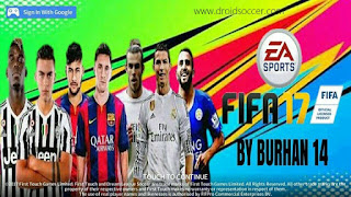 DLS 17 Mod FIFA 17 by Burhan Apk + Data Obb