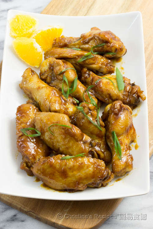 Orange-Honey Sriracha Chicken Wings