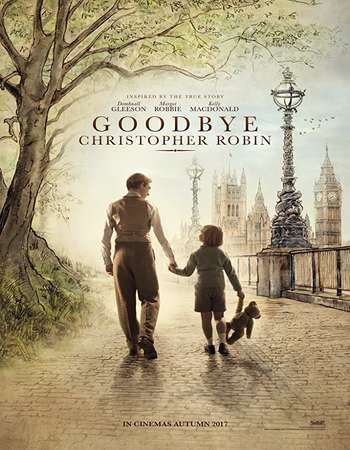 Poster Of Goodbye Christopher Robin 2017 Full Movie In Hindi Dubbed Download HD 100MB English Movie For Mobiles 3gp Mp4 HEVC Watch Online