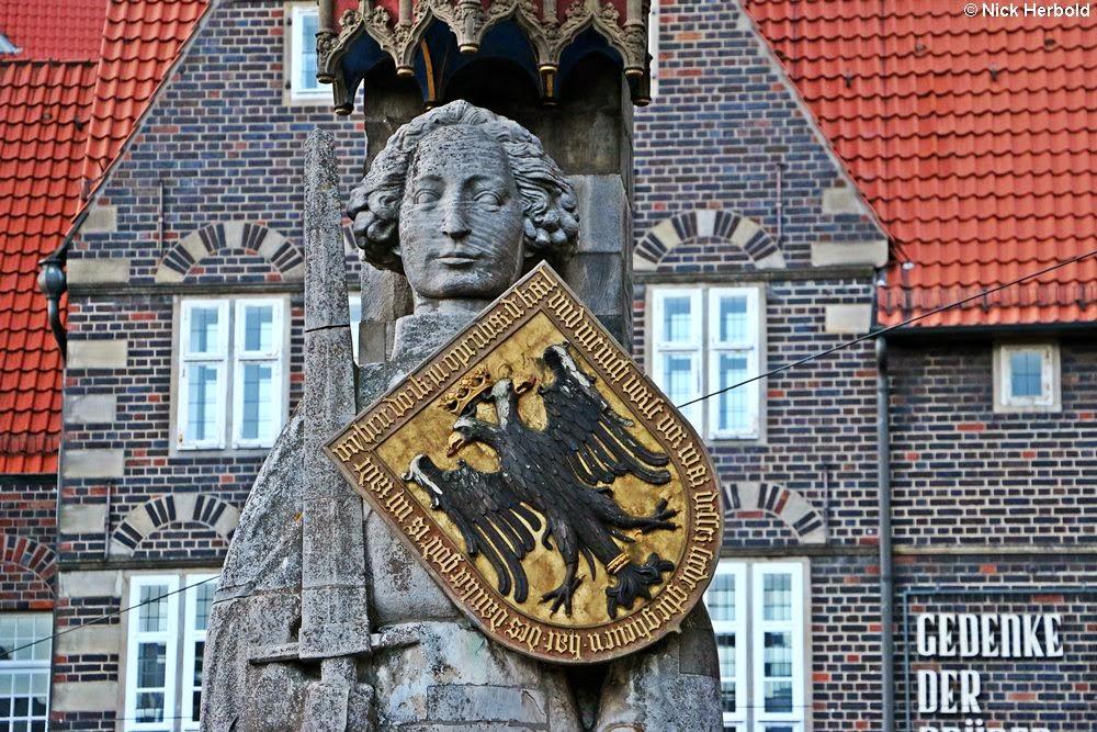 Sehenswürdigkeiten Bremen, Wahrzeichen Bremer Roland