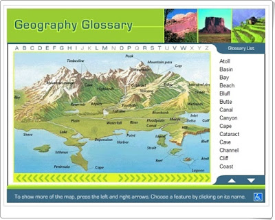 http://www.hbschool.com/ss1/HSP_GeoGlossary/index.html