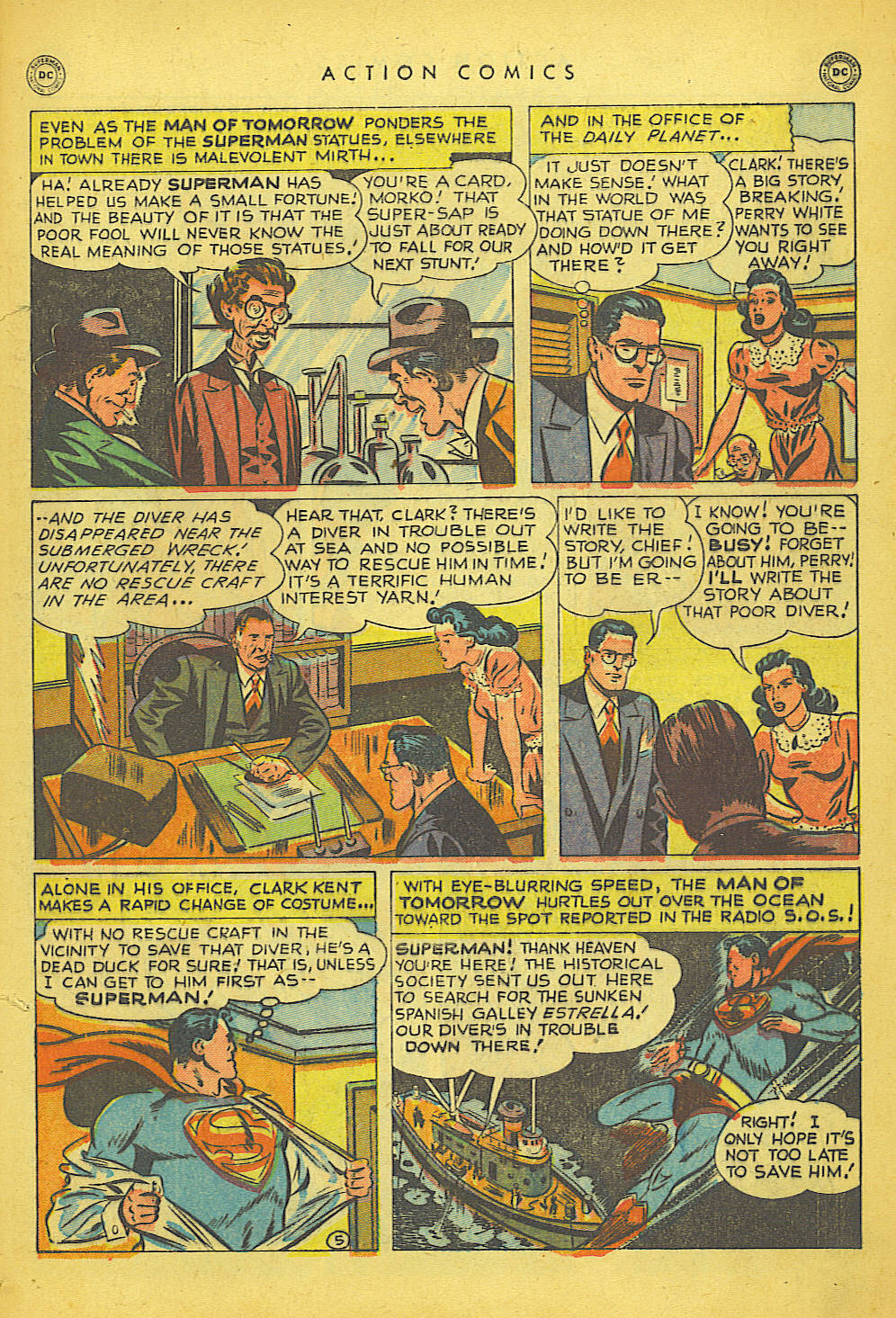 Read online Action Comics (1938) comic -  Issue #150 - 6