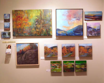 Asheville Gallery of Art wall:new works