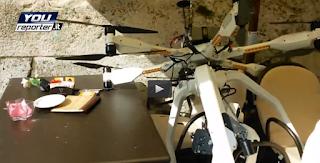 drone crash liability