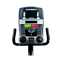 Schwinn Journey 2.0's console, image, with Dual Track 2 LCD screens