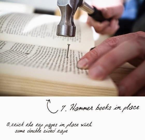 Cara Membuat Kerajinan Tangan Dari Barang Bekas - Headboard Buku Bekas 7