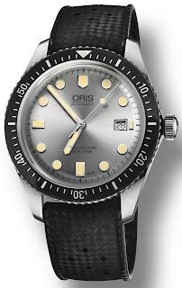 Montre Oris Divers Sixty-Five cadran argent
