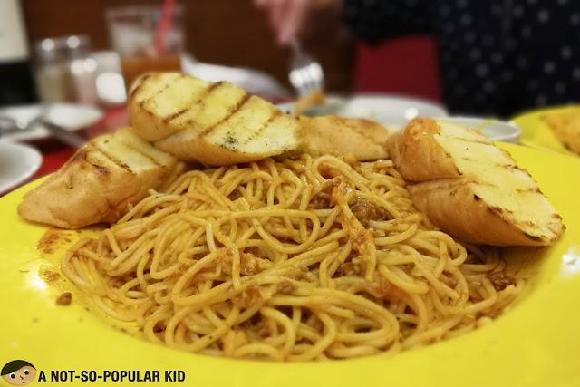 Spaghetti Bolognese of Tender Bob's