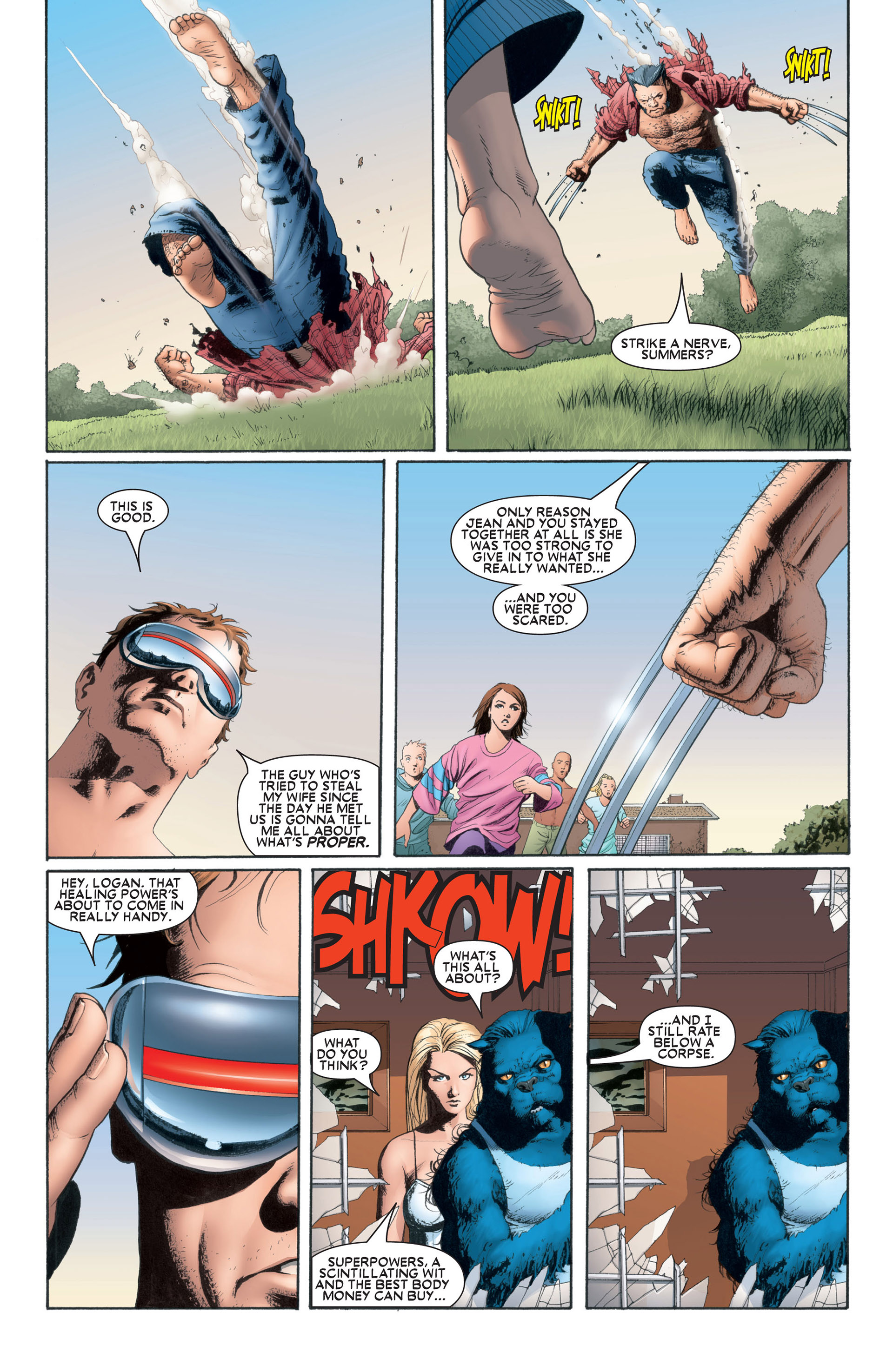Astonishing X-Men (2004) issue 1 - Page 13