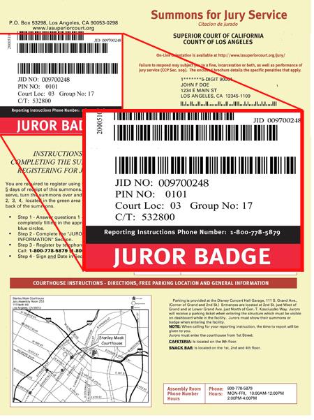 John Maly's Blog: Why you should look forward to Jury Duty!