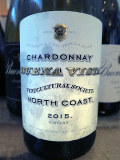Buena Vista North Coast Chardonnay 2015 (88 pts)
