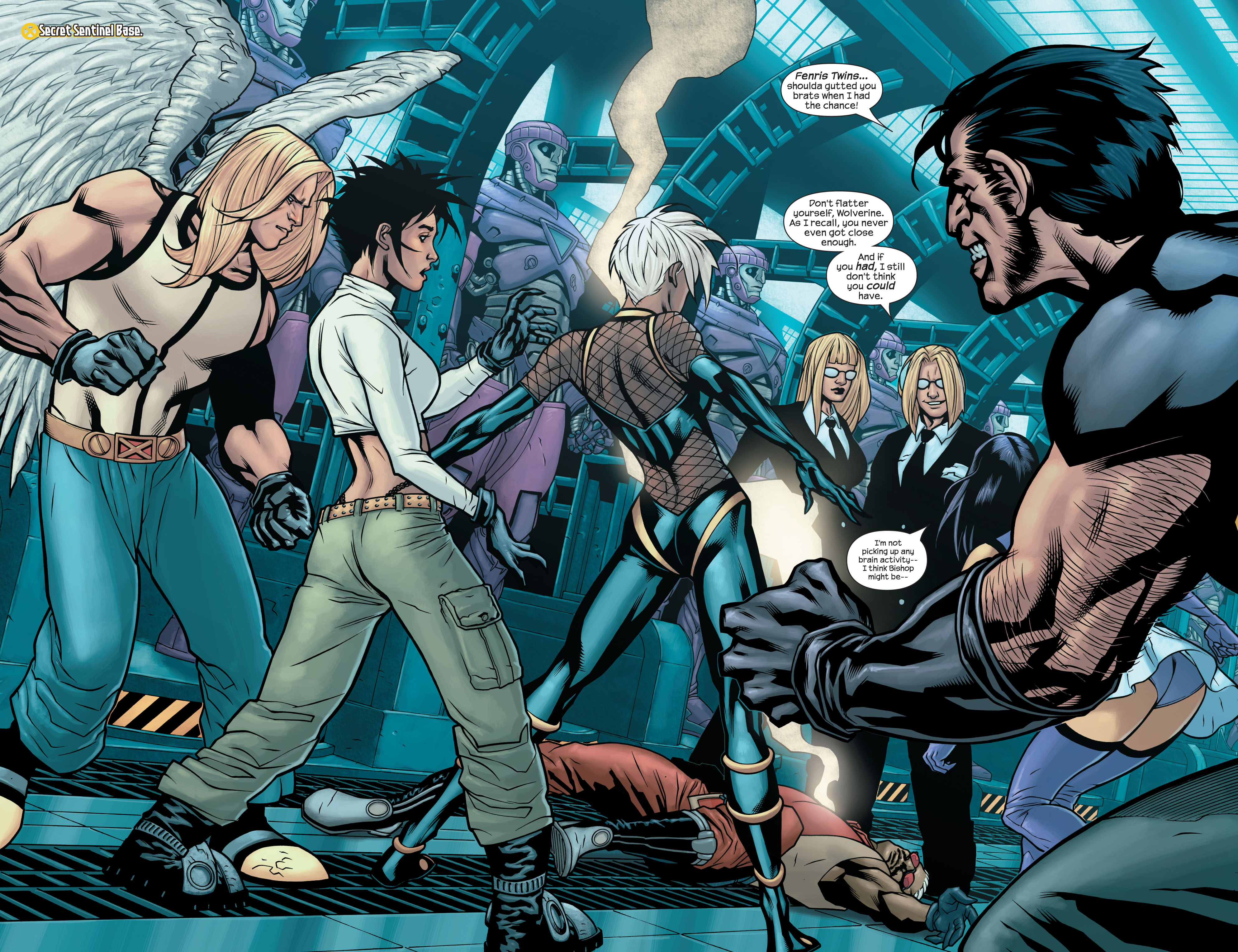 Read online Ultimate X-Men comic -  Issue #86 - 3