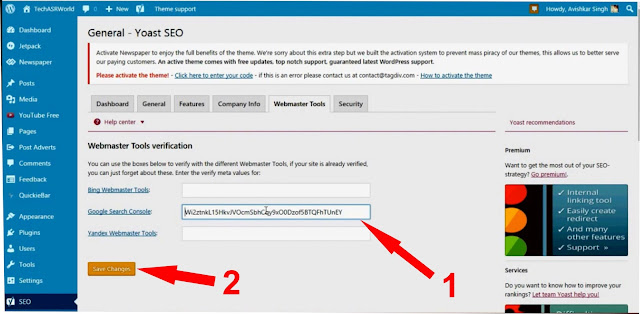 How To Submit Blogger Sitemap To Google Webmaster Tools?