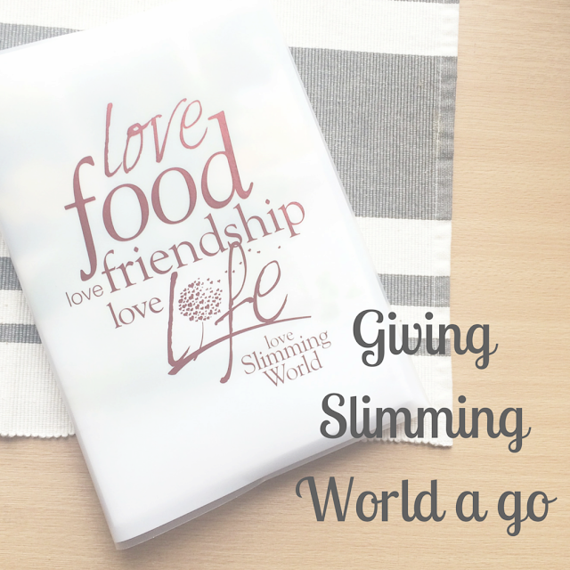 Moving to Slimming World