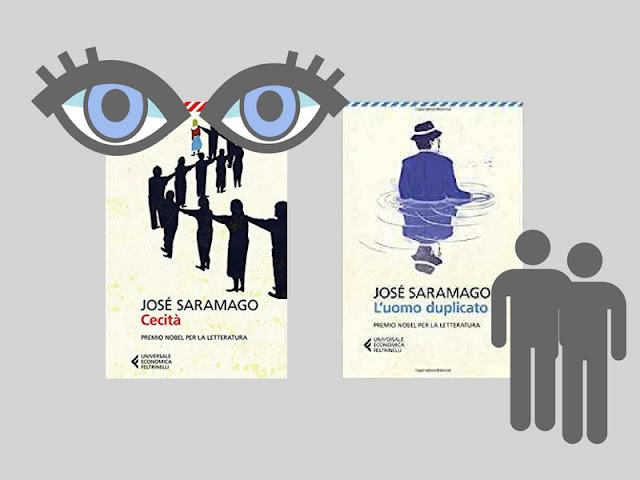 I libri paradossali e allegorici di Saramago cecità e l'uomo duplicato