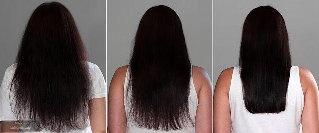 keratynowe prostowanie włosów w domu efekty