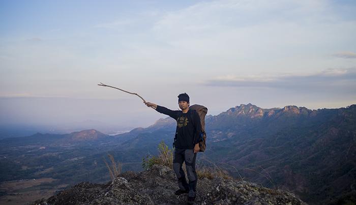 Sampai Puncak Gunung Gajah Mungkur, Sukoharjo