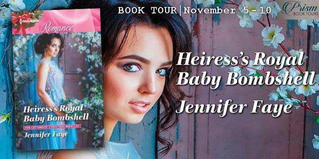Heiress's Royal Baby Bombshell book tour banner