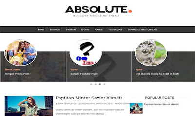 absolute-blogger-template