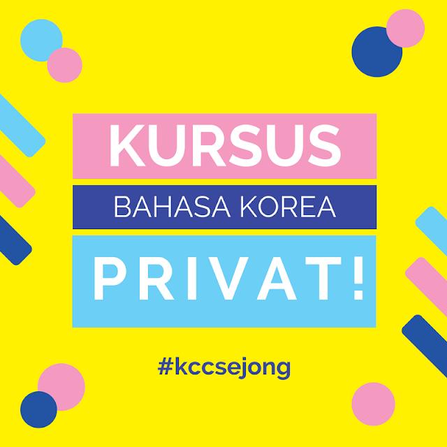 Kursus Bahasa Korea Privat KCC Sejong Jogja