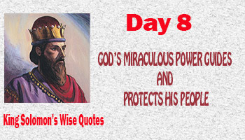 God Protects his people in a miraculous way