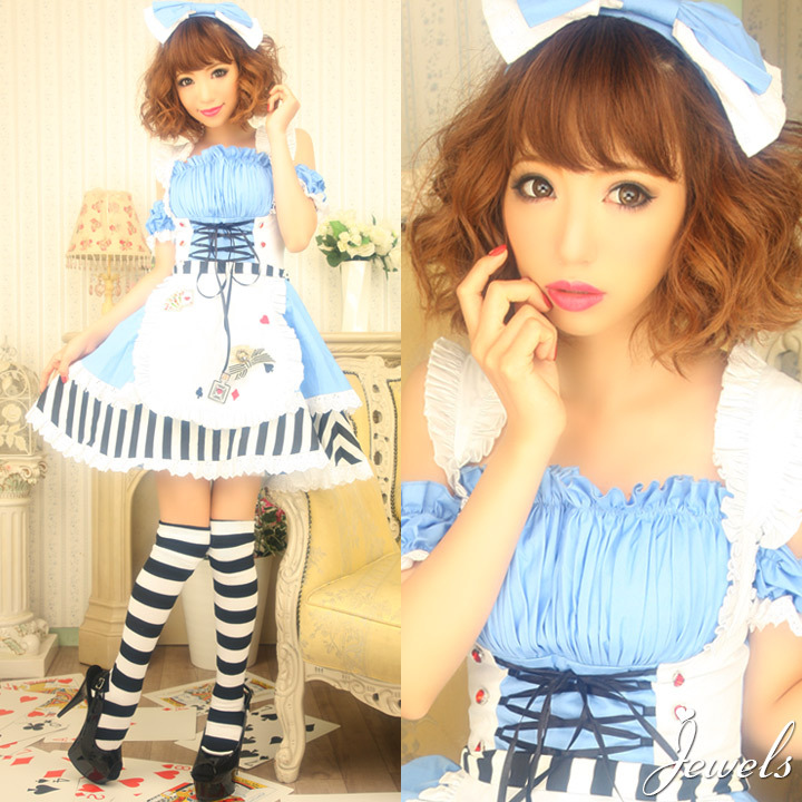 gyaru alice in wonderland