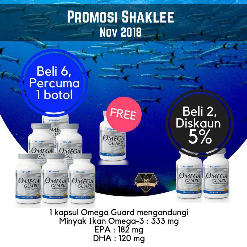 buy 6 free 1 omega shaklee