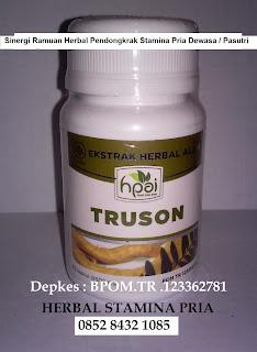 Truson obat kuat lemah syahwat penambah sperma dan tahan lama