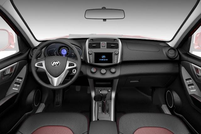 Lifan X60 Automático - interior