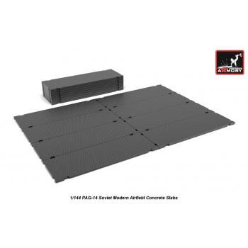 AR14705 - 1/144 PAG-14 Soviet Modern Concrete Slabs set