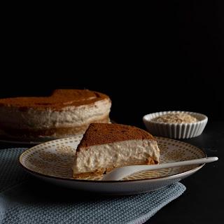Tarta fría elaborada con avena sin azúcar añadido