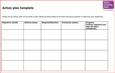 Action Plan Template Free – Action Plan Templates Free