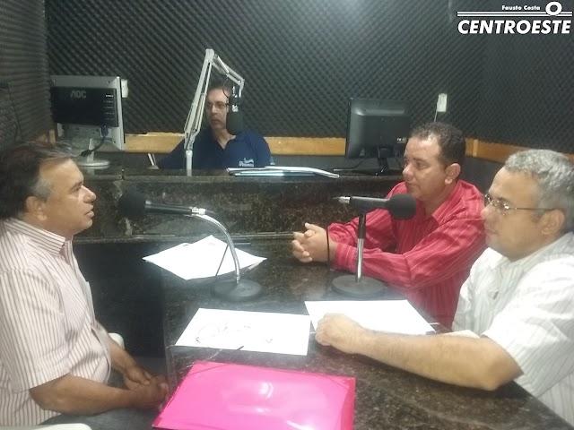 Entrevista com o pré-candidato a prefeito de Bonfinópolis Antonio Musquito