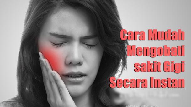Cara Mengatasi Gigi Berlubang Dan Berdarah Parah Tanpa Ditambal