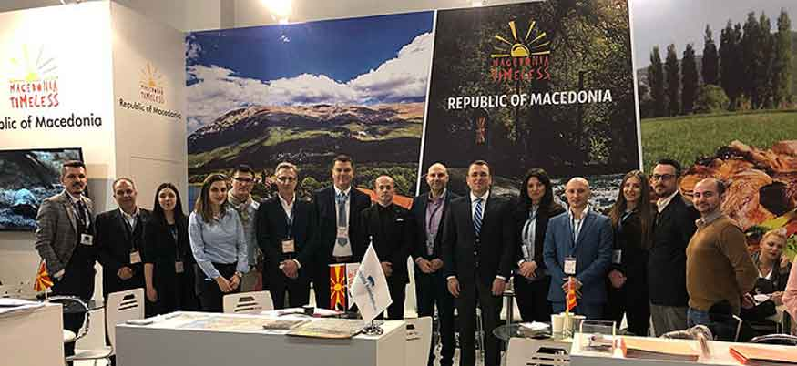 Macedonia promoted at Berlin travel fair