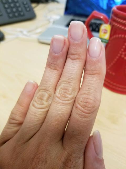 essie mademoiselle bridal gel manicure