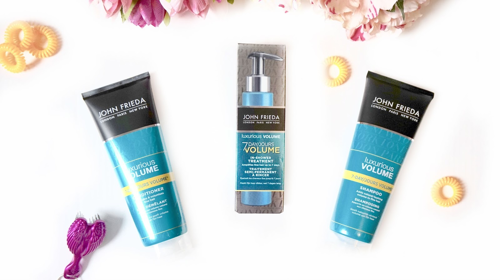 John Frieda Luxurious Volume Range
