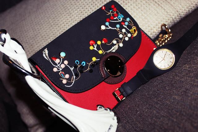 Embroidery Crossbody Bag - Zaful PL|EN