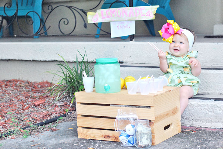"How I'm Teaching My Daughter to ""Give Back"" & Help Children's Charities at Only 1 Year Old..."