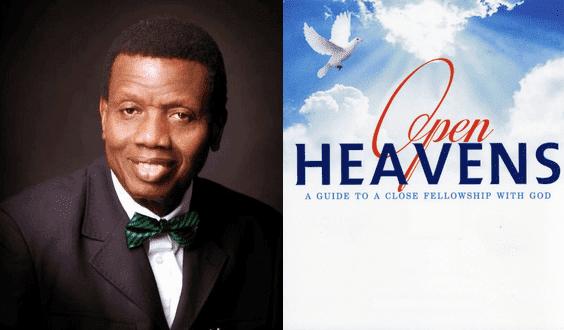 Open Heaven 29 April 2019 – Don't be a lone Ranger