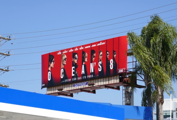 Oceans 8 billboard