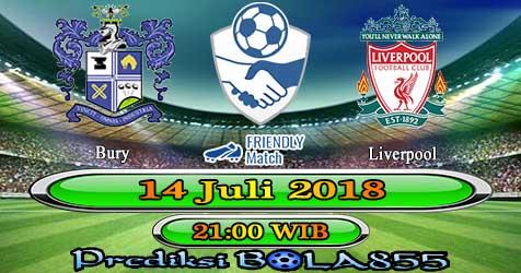 Prediksi Bola855 Bury vs Liverpool 14 Juli 2018