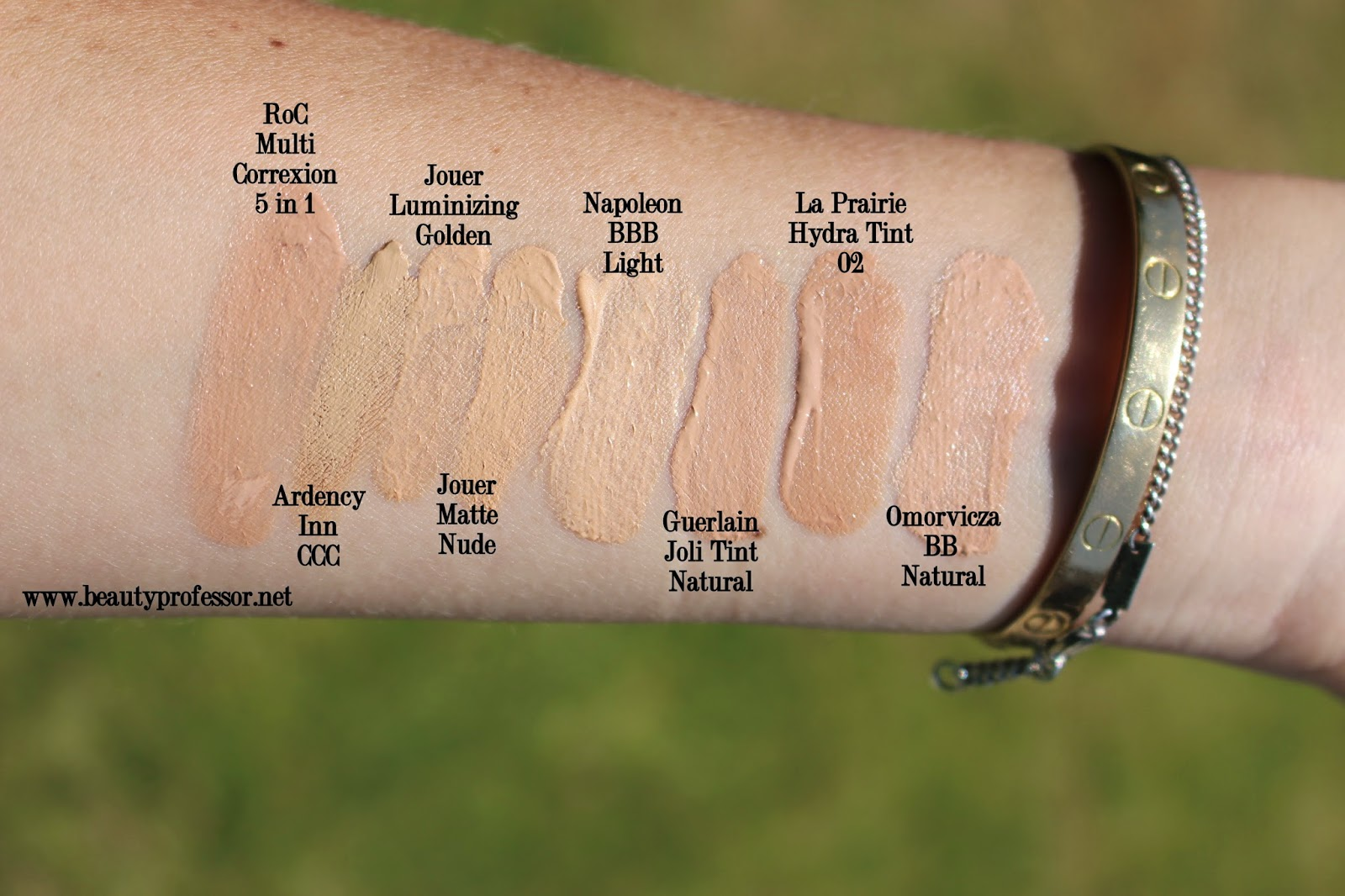 Beauty Professor: Video Overview: Seven Summer Foundations...from ...