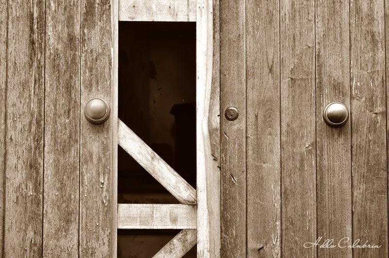 Drzwi, opustoszałe miejsce