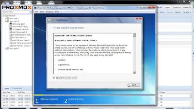 Tutorial Install Windows 7 pada server Proxmox