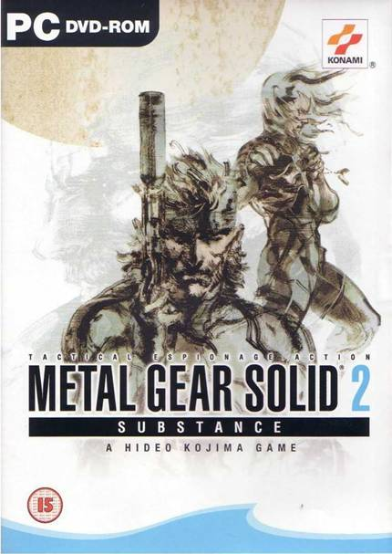 Metal Gear Solid 2 Substance PC Full Español
